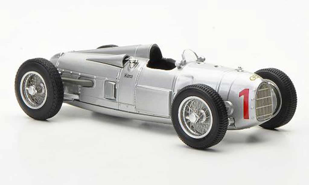 Auto Union Typ A 1/43 Minichamps No.1 H.Stuck GP Deutschland 1934 miniature