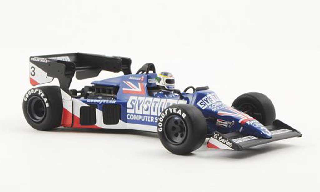 Tyrrell 012 1/43 Minichamps Ford No.3 Systime S.Johansson GP Grossbritannien 1984 miniature