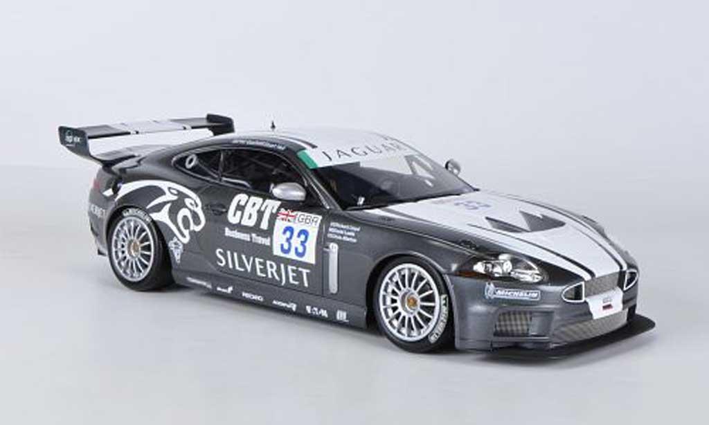 Miniature Jaguar XKR GT3 No.33 Quaife/Hall FIA GT3 2008 Minichamps. Jaguar XKR GT3 No.33 Quaife/Hall FIA GT3 2008 miniature 1/18
