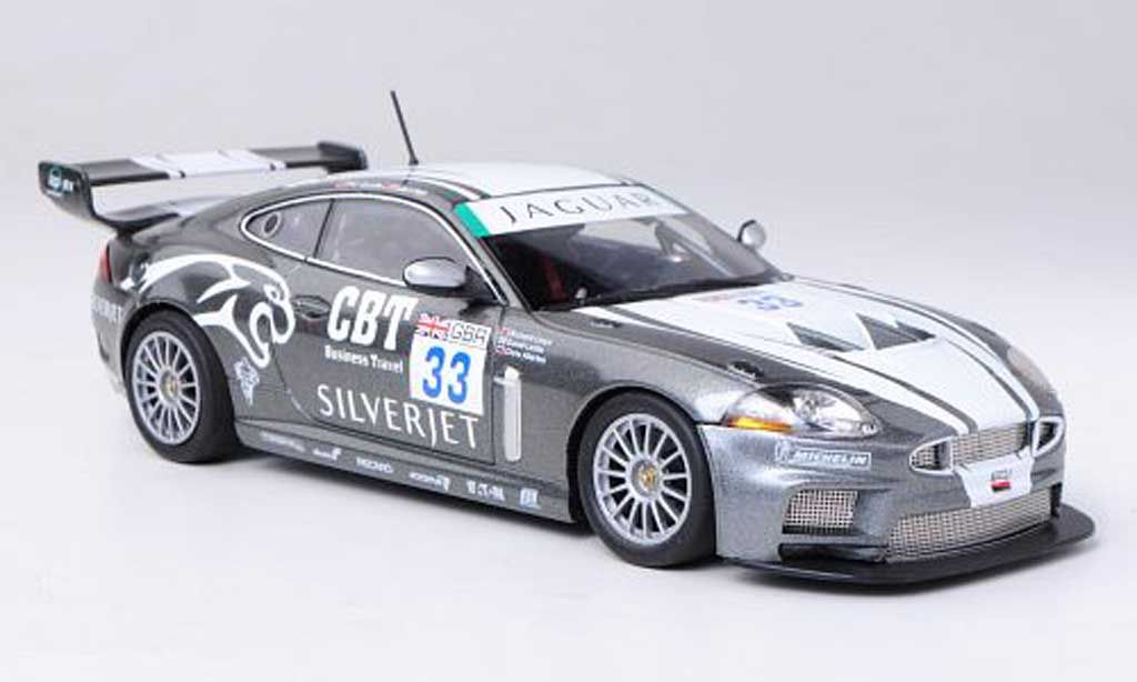 Jaguar XKR GT3 1/43 Minichamps No.33 P.Quaife / S.Hall FIA 2008 miniature