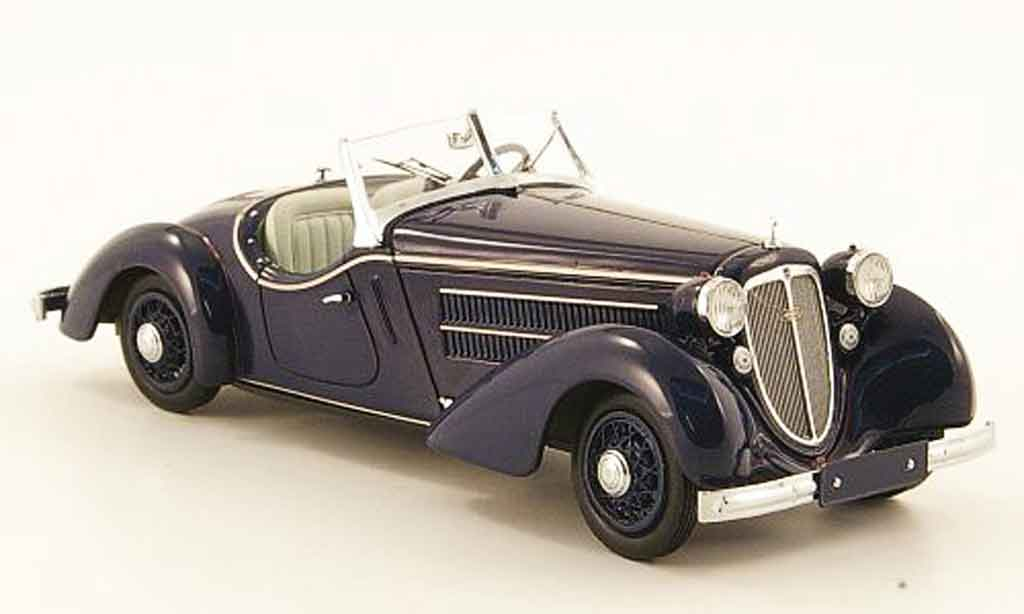 Audi Front 225 1/43 Minichamps Roadster bleu 1935 miniature