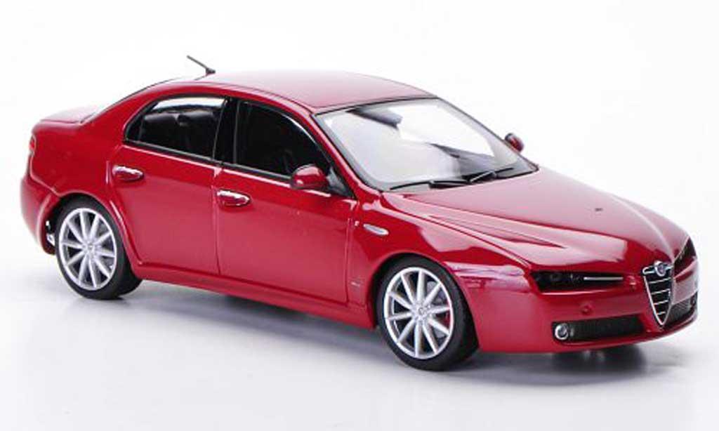 Alfa Romeo 159 1/43 Minichamps TI red 2008 diecast model cars
