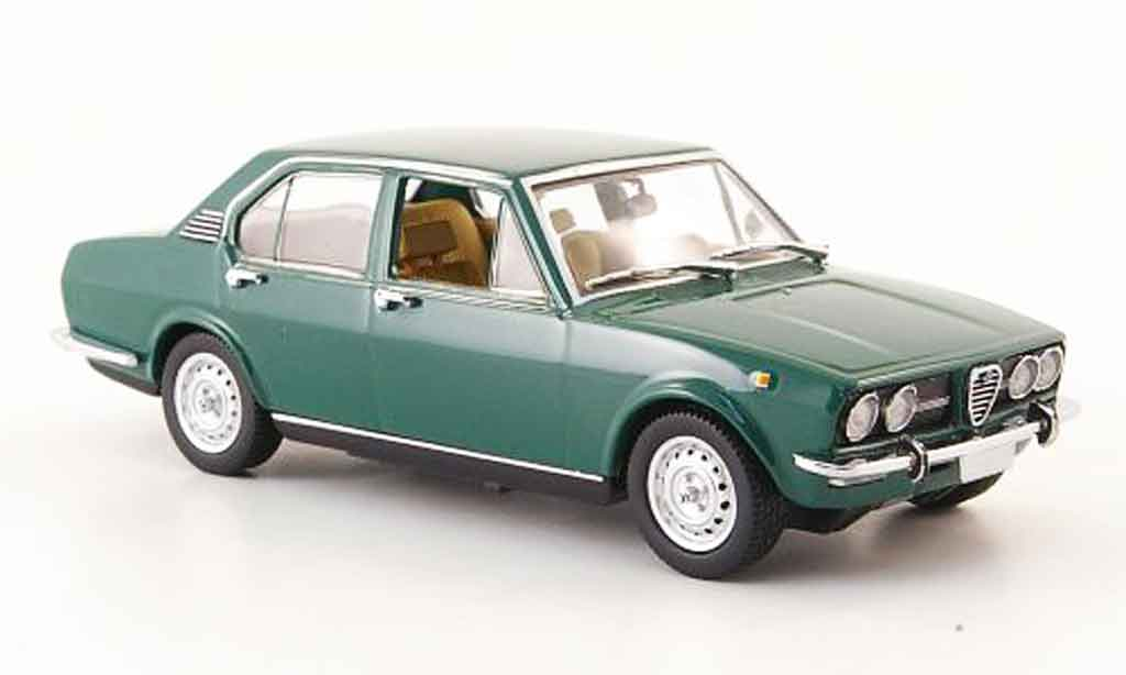 alfa romeo alfetta 1 8 grun 1972 minichamps modellauto 1. Black Bedroom Furniture Sets. Home Design Ideas