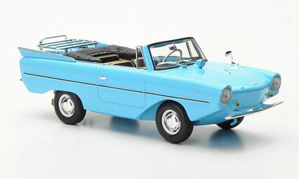 Amphicar 1965 1/43 Minichamps turkis miniature