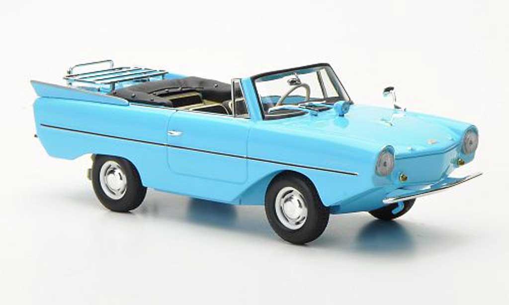 Amphicar 1965 1/43 Minichamps turkis 1965 modellautos