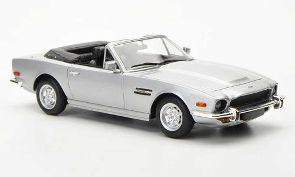 aston martin v8 volante gray lhd 1987 minichamps diecast model car 1 43 buy sell diecast car. Black Bedroom Furniture Sets. Home Design Ideas