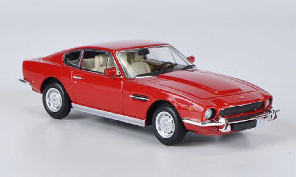 Aston Martin V8 1/43 Minichamps rouge 1987 miniature