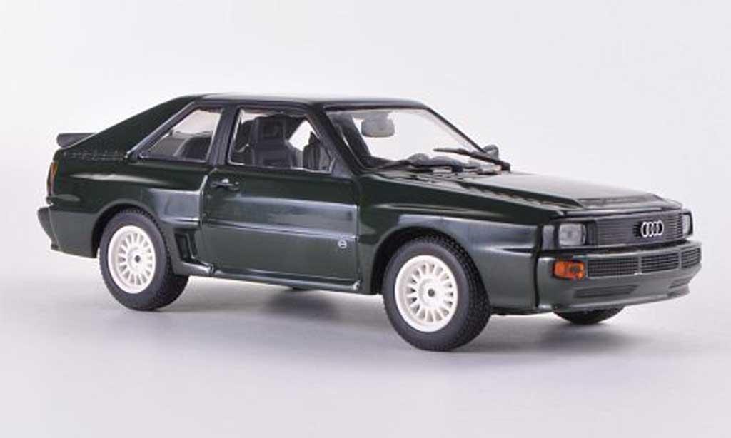 Audi Sport Quattro 1/43 Minichamps verte  1984 miniature