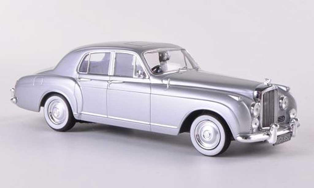 Bentley Continental S1 1/43 Minichamps grise  RHD  1956 miniature
