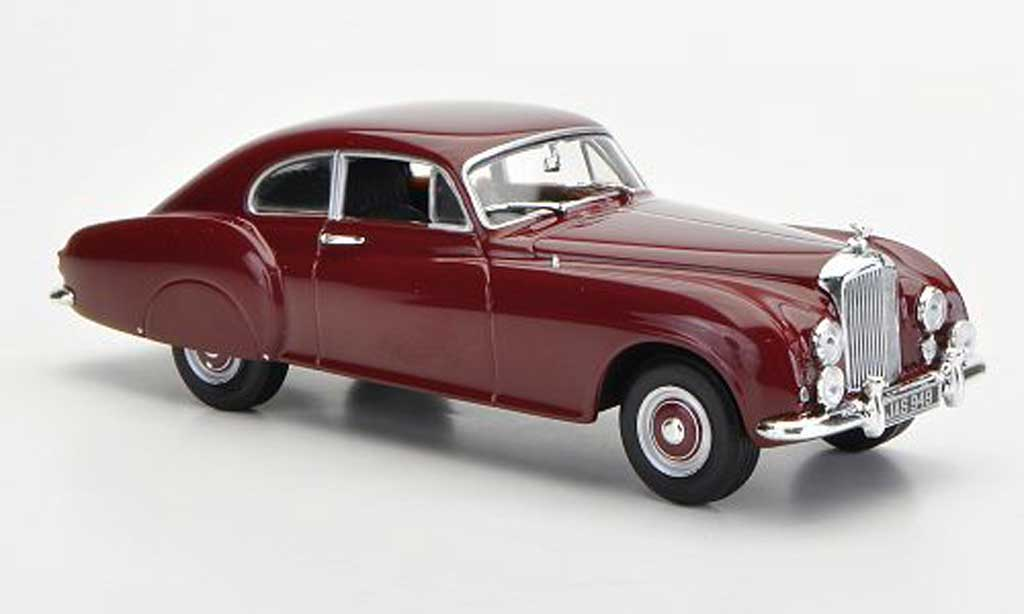Bentley R Type 1/43 Minichamps R-Type Continental rouge 1955 miniature