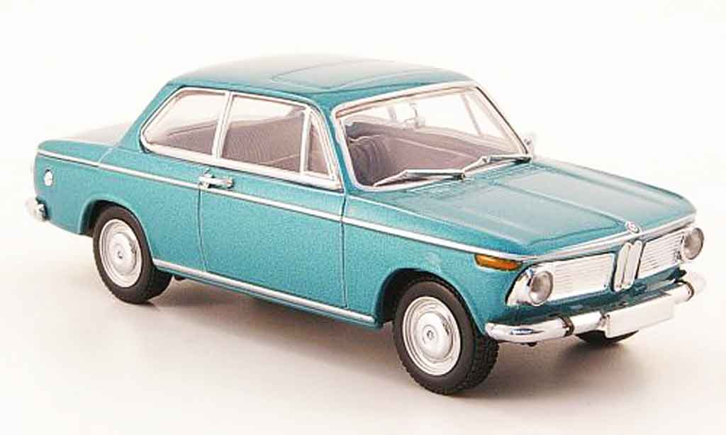 Bmw 1602 1/43 Minichamps (Typ 116) turquoise 1966 miniature