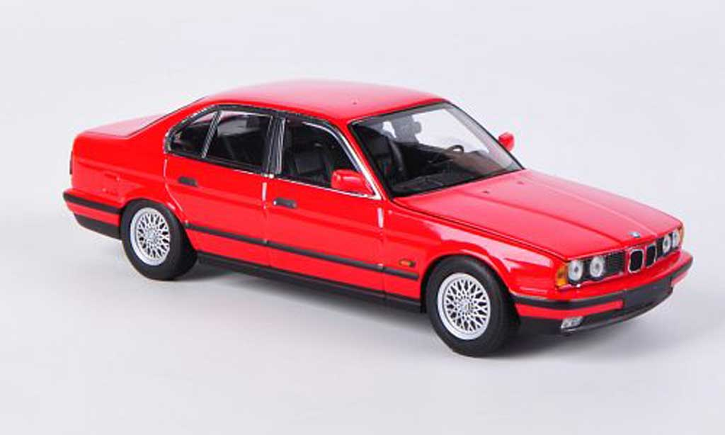 Bmw 518 E34 1/43 Minichamps i rouge 1988 miniature