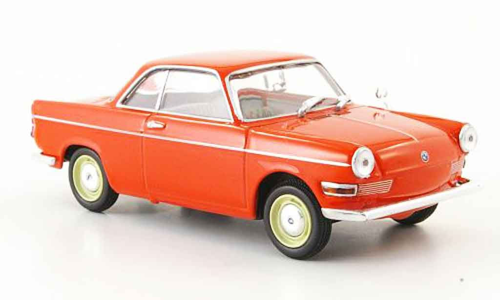 Bmw 700 1/43 Minichamps Sport red 1960 diecast model cars