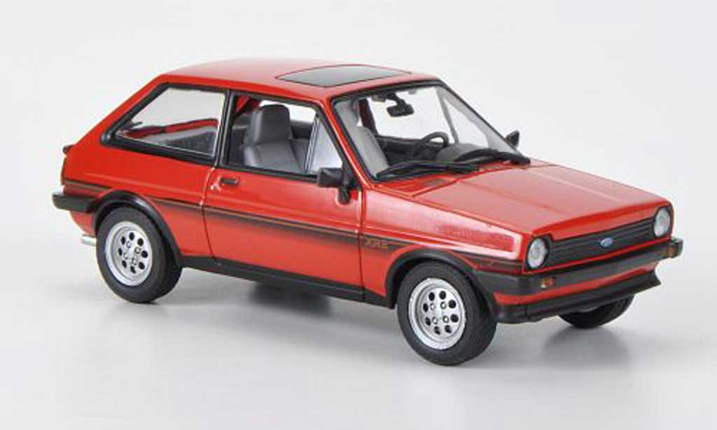 Ford Fiesta 1981 1/43 Minichamps MkI XR2 rouge miniature