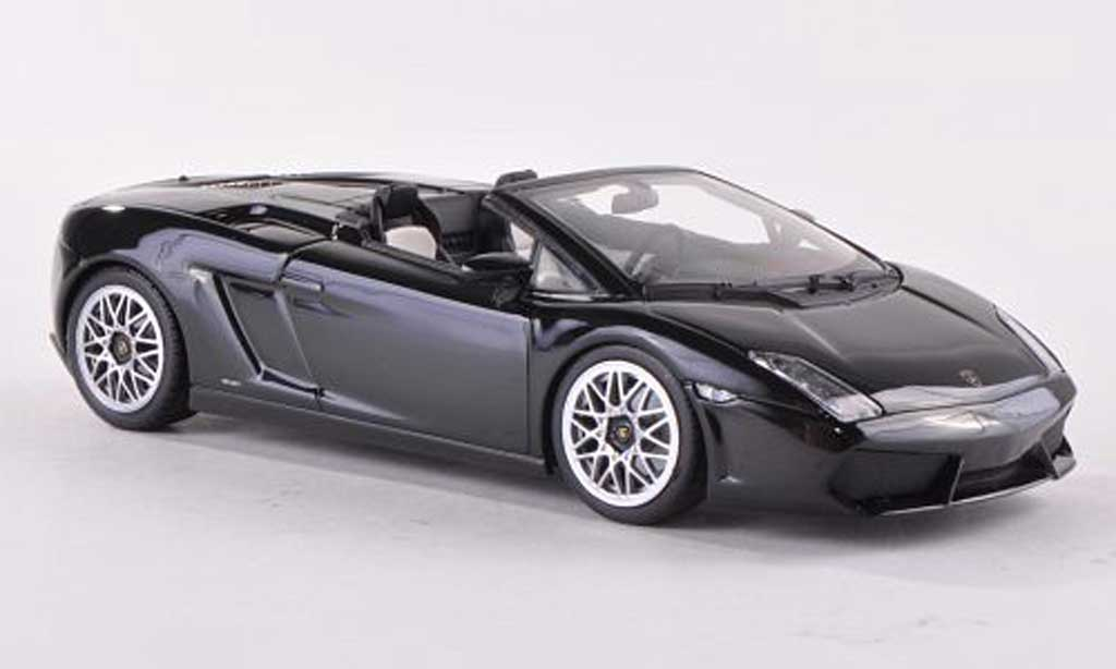 lamborghini gallardo lp560 4 spyder schwarz 2009 minichamps modellauto 1 43 kaufen verkauf. Black Bedroom Furniture Sets. Home Design Ideas