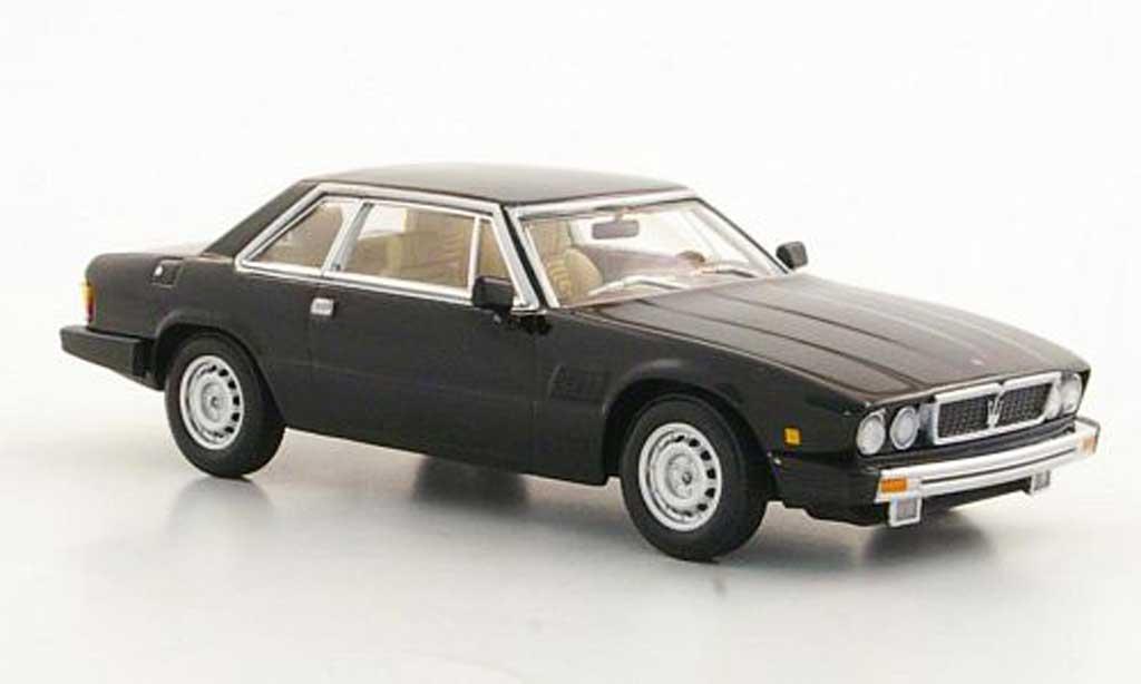 Maserati Kyalami 1/43 Minichamps noire 1982 miniature
