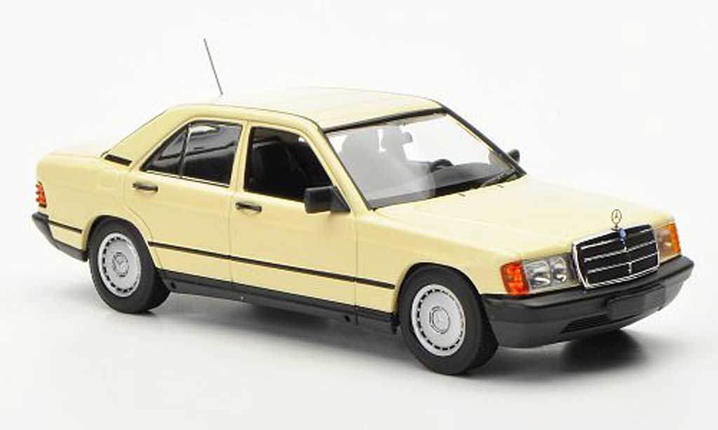 mercedes 190 e e w201 hellelfenbein 1984 minichamps. Black Bedroom Furniture Sets. Home Design Ideas