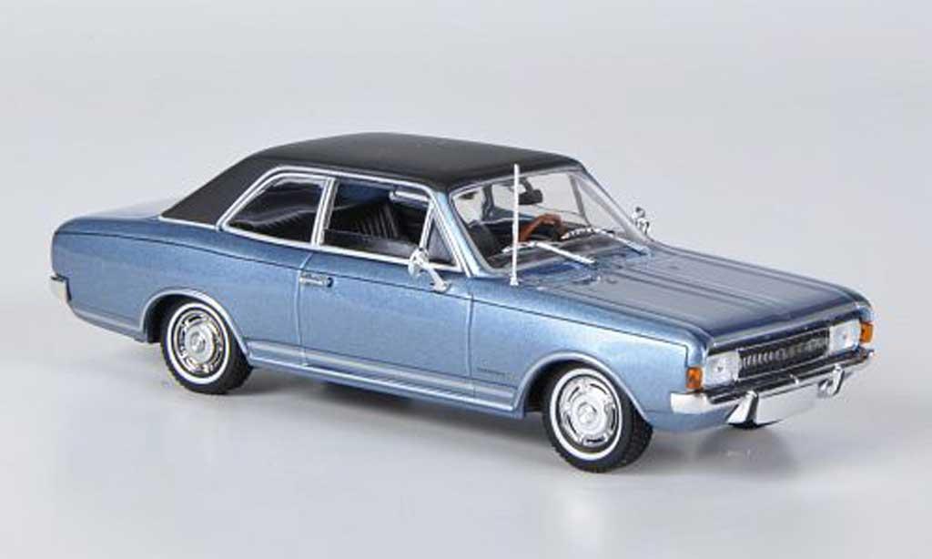 Opel Commodore A 1/43 Minichamps bleu/noire 1966 miniature