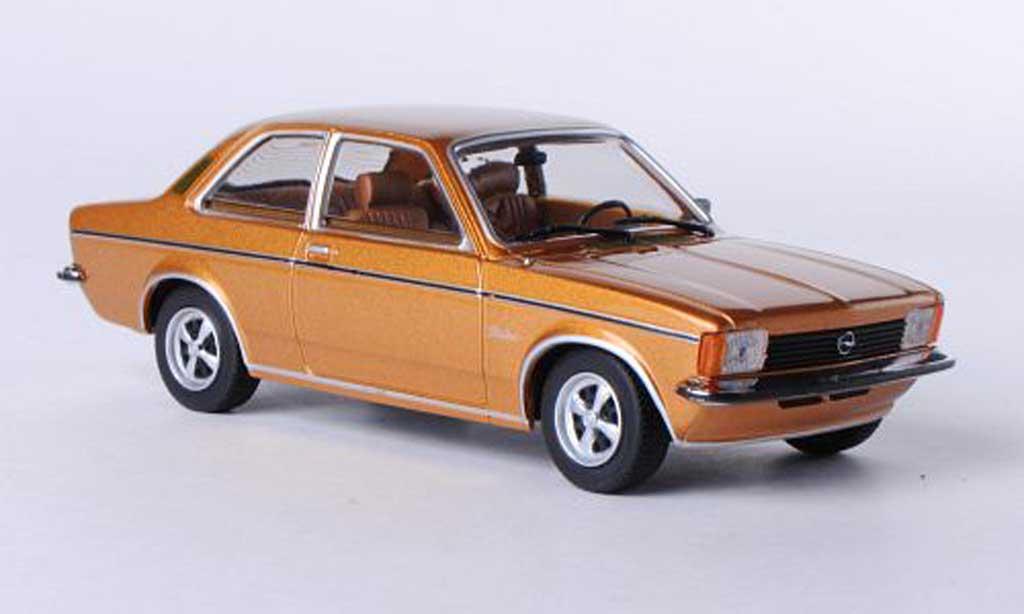 Opel Kadett C 1/43 Minichamps Berlina beige 1978 miniature