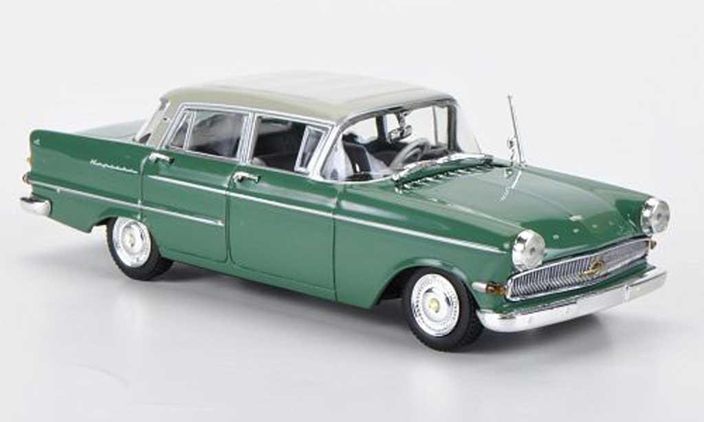 Opel Kapitan 1/43 Minichamps grun/beigegrise 1959 miniature