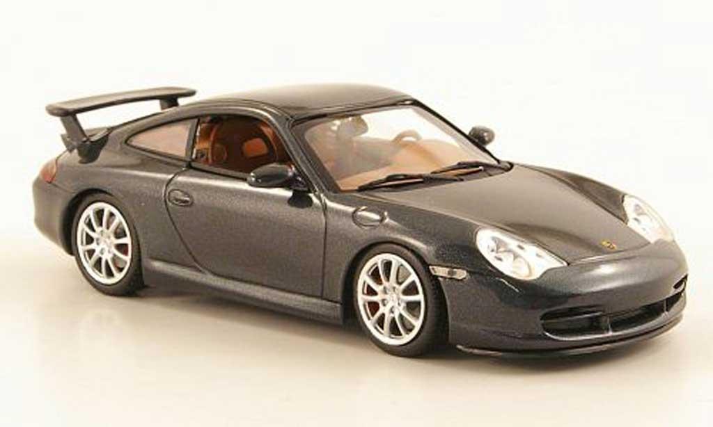 Porsche 996 GT3 gray 2003 Minichamps. Porsche 996 GT3 gray 2003 miniature 1/43