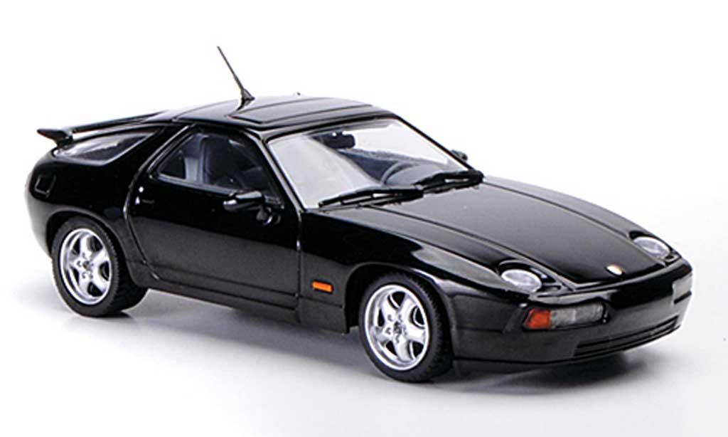 Porsche 928 1991 1/43 Minichamps GTS noire miniature