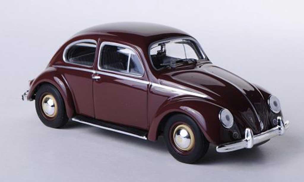 Volkswagen Kafer 1/43 Minichamps 1200 marron 1953 miniature