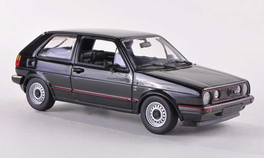 volkswagen golf 2 gti ii gti schwarz 1985 minichamps modellauto 1 43 kaufen verkauf modellauto. Black Bedroom Furniture Sets. Home Design Ideas
