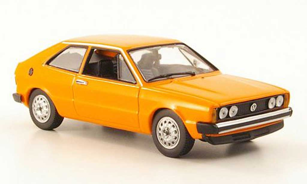Volkswagen Scirocco 1/43 Minichamps I orange 1974 miniature