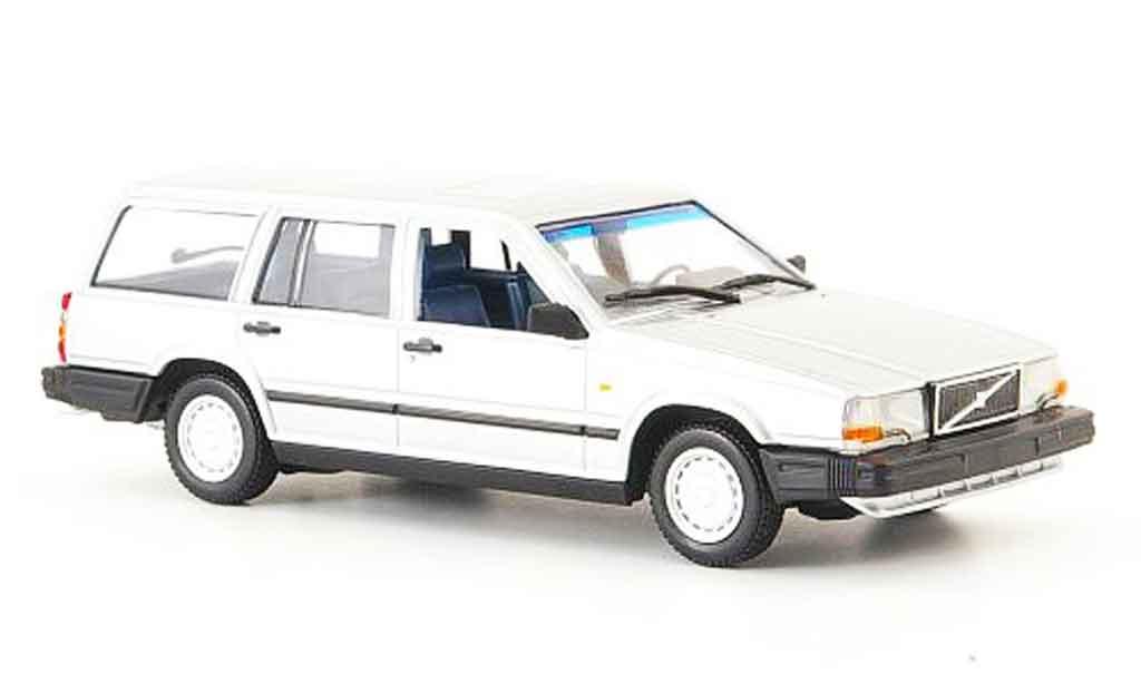 Volvo 740 1/43 Minichamps GL grise 1986 miniature