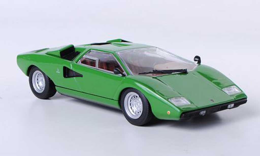 lamborghini countach lp 400 green 1974 minichamps diecast model car 1 43 buy sell diecast car. Black Bedroom Furniture Sets. Home Design Ideas