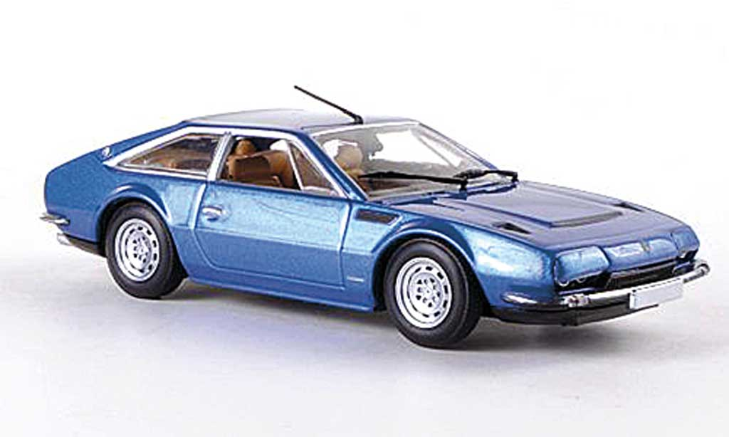 Lamborghini Jarama 1/43 Minichamps 400 GT 2+2 bleue 1974 miniature