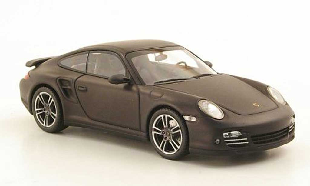 Porsche 997 Turbo 1/43 Minichamps (II) mattgrey 2009 diecast model cars