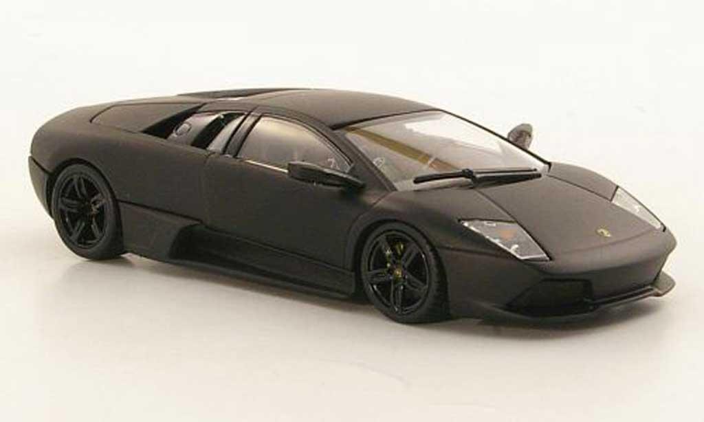 Lamborghini Murcielago LP640 1/43 Minichamps LP640 mattnoire 2008 miniature