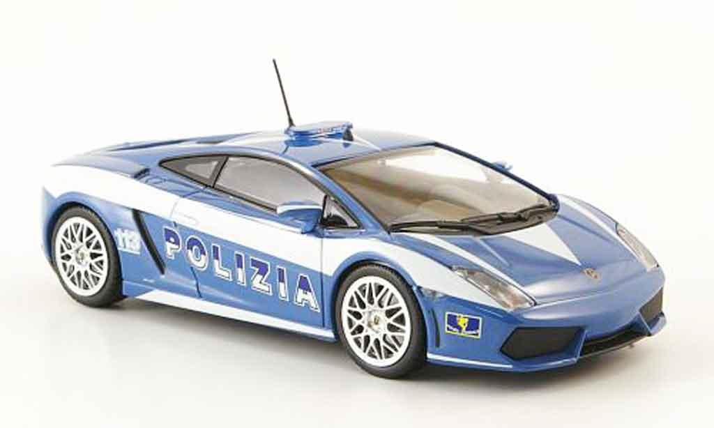 Lamborghini Gallardo LP560-4 LP560-4 1/43 Minichamps police 2009 miniature