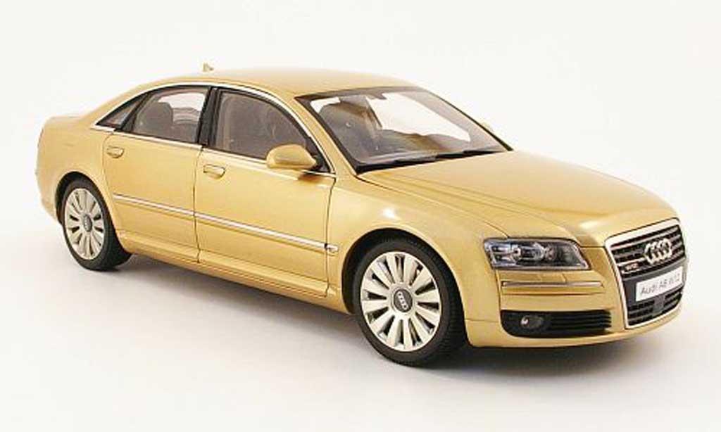 Audi A8 W12 1/18 Kyosho beige miniature