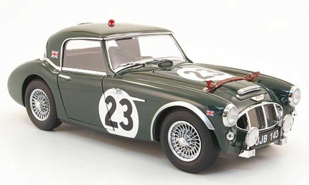 Austin Healey 3000 1/18 Kyosho no.23 24h le mans 1960 miniature