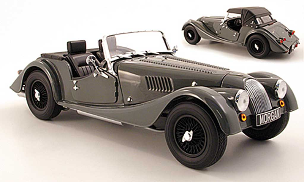 Morgan 4/4 Sports 1/18 Kyosho grise 2008 miniature