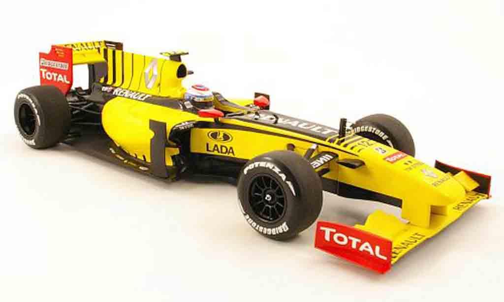 Renault F1 1/18 Minichamps team no.12 showcar 2010 miniature