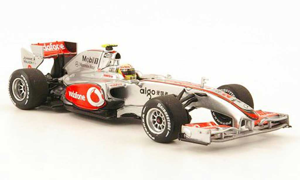 Mercedes F1 2010 1/43 Minichamps McLaren No.2 Vodafone L.Hamilton Showcar miniature