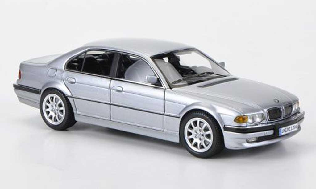 Bmw 740 E38 1/43 Neo i grey 2000 diecast model cars