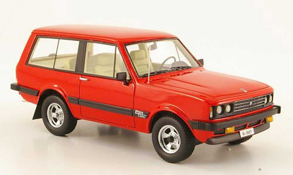 Monteverdi Safari 1/43 Neo rouge 1976 miniature
