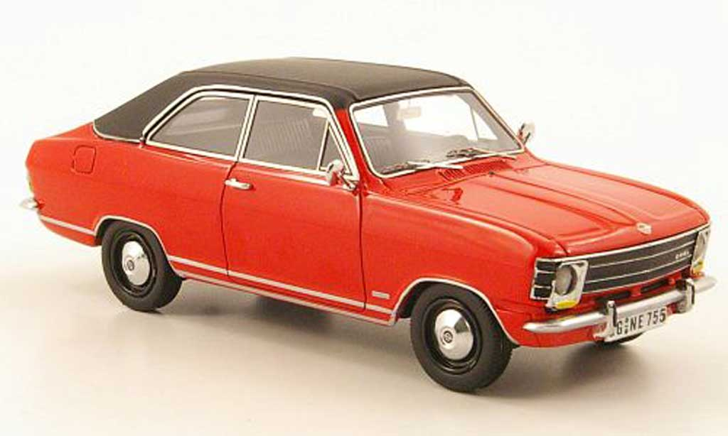 Opel Olympia 1/43 Neo A LS rouge/noire 1970 miniature