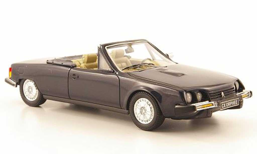 Citroen CX 1/43 Neo Orphee Cabriolet bleu 1983 miniature