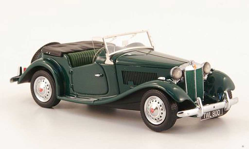 MG TD 1/43 Neo MkII vert RHD 1950 miniature