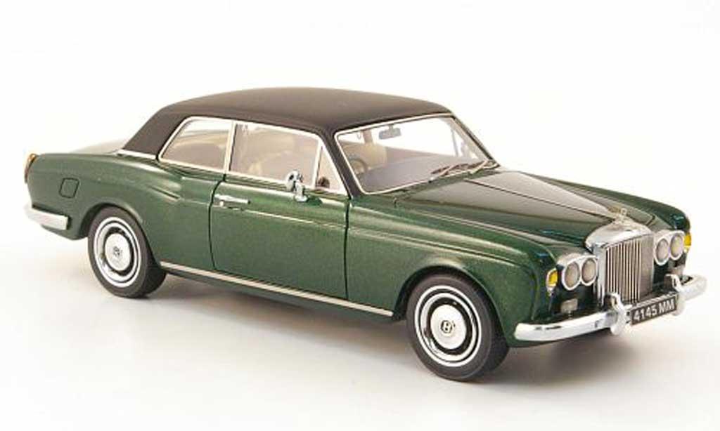 Bentley Corniche 1/43 Neo grun/noire 1971 miniature
