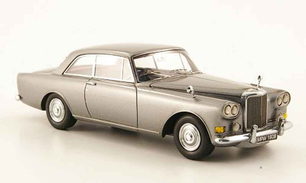 Bentley Continental SIII 1/43 Neo Mulliner Park Ward grise 1963 miniature