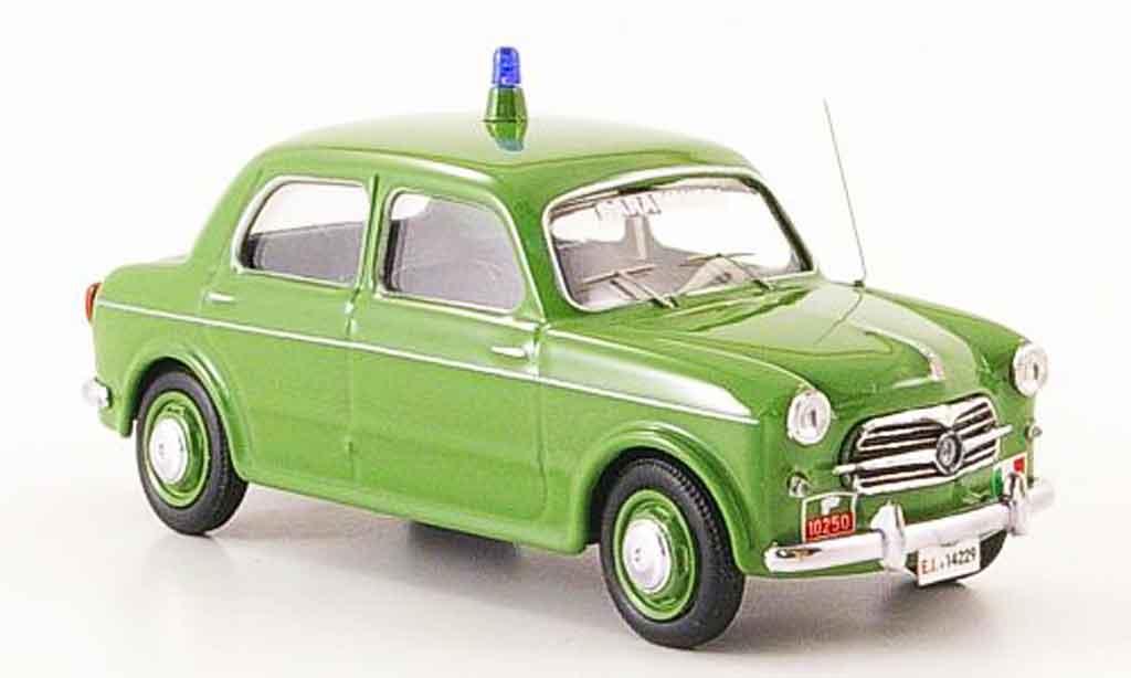Fiat 1100 1955 1/43 Rio 103 T.V. Carabinieri police diecast model cars