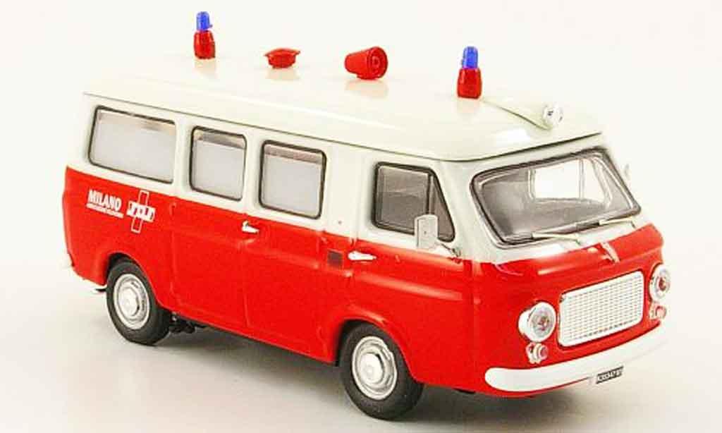 Fiat 238 1/43 Rio Ambulanz Mailand KTW 1968 diecast model cars