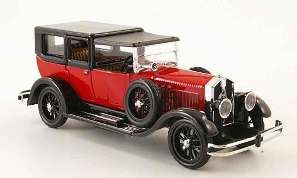 Isotta 8A 1/43 Rio Fraschini Limousine rouge noire geschlossen 1924 miniature